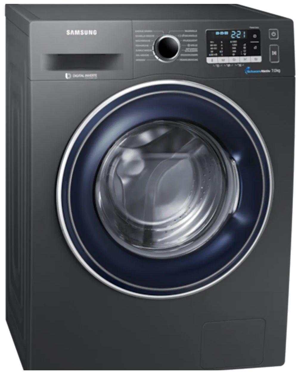 Samsung Waschmaschine Edelstahl (7kg, 1400 U/Min, A+++) für nur 369€ (statt 400€)