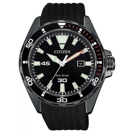 Citizen BM7455 11E Herren Solaruhr mit Kautschuk Armband für 84,91€ (statt 100€)