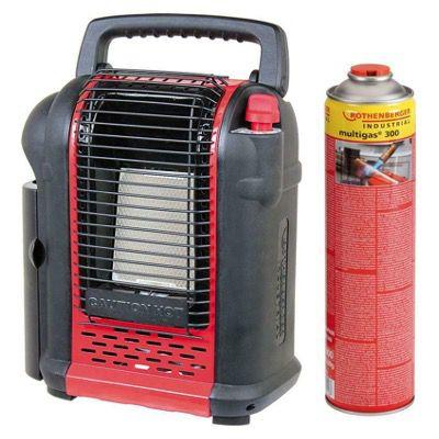 Gasheizgerät Rotemp M2000 inkl. Piezozündung und Gaskartusche für 62,95€ (statt 90€)