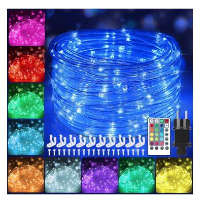 12 Meter LED Lichtschlauch Bunt für Außen IP68 mit 120 LEDs für 20,99€ (statt 30€)