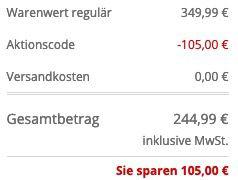 JOOP! Collection Wollmantel mit Stehkragen Modell Faron in Marineblau für 244,99€ (statt 350€)