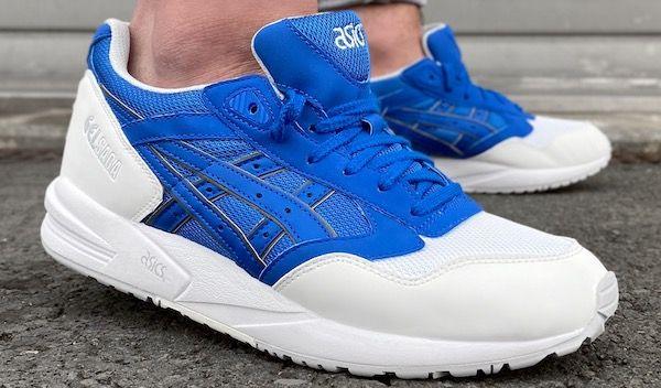 Asics Tiger GEL SAGA Sneaker in Weiß/Blau für 37,28€ (statt 45€)