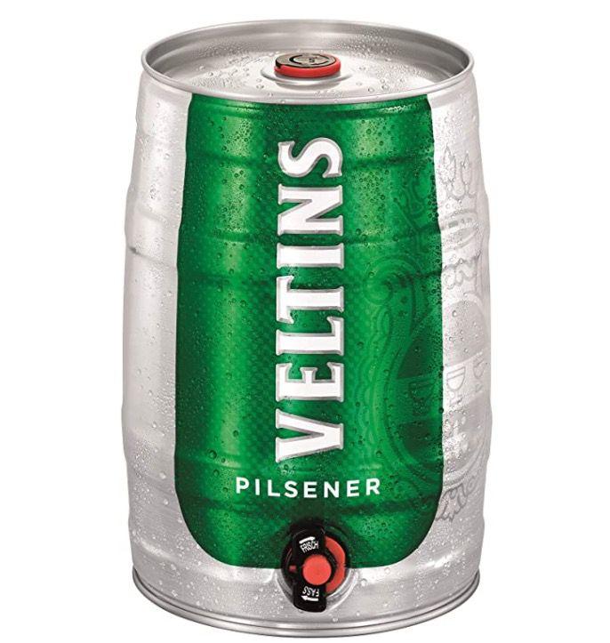5 Liter Veltins Pilsener Partyfass ab 7,19€ – Prime Sparabo