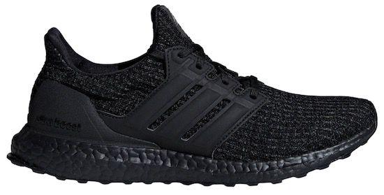 adidas UltraBOOST Laufschuhe/Sneaker in Schwarz für 98,71€ (statt 120€)