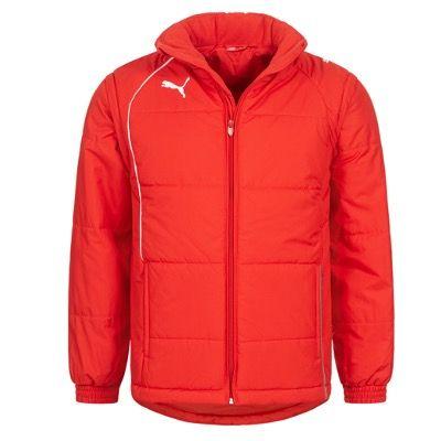 Ausverkauft! Puma Padded Herren Winterjacke in Rot für 18,94€ (statt 55€)