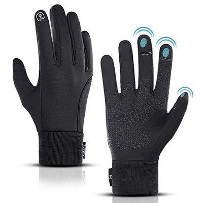 LERWAY Touchscreen Winterhandschuhe mit Fleece gefüttert für 8,39€ (statt 14€)   Prime