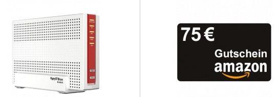 TOP! Vodafone Red Internet & Phone 1000 Cable für 42€ mtl. + FRITZ!Box 6591 + 75€ Amazon Gutschein + 100€ Startguthaben