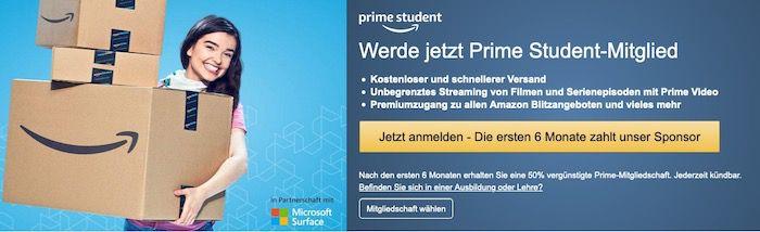 Amazon Prime Student – Vorteile, Kosten & Co.