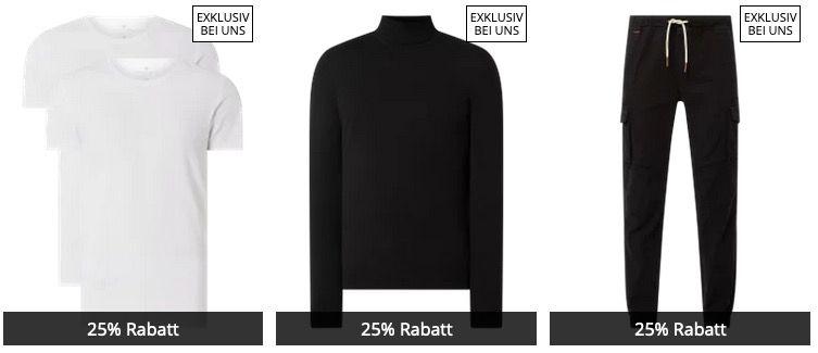 Heute 25% Extra Rabatt auf Peek & Cloppenburg Eigenmarken   z.B. Hosen, Pullis, Hemden uvm...