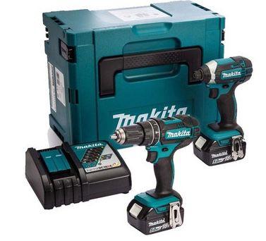 Makita 18 V Kombiset inkl. 2 Akkus je 5 Ah für 288,90€ (statt 319€)
