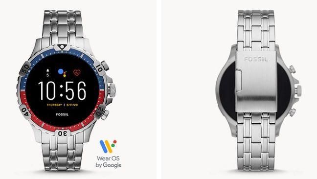 Fossil Smartwatch Garrett HR Edelstahl oder mit Silikon Armband für je 149€ (statt 206€)