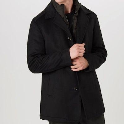 Schnell? JOOP! Wollmantel Dannito in Schwarz für 215,40€ (statt 379€)   nur L und XL!