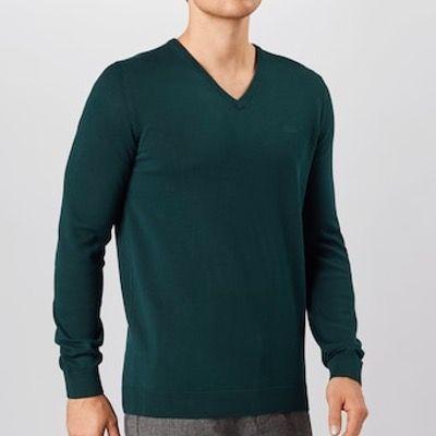 s.Oliver V Neck Pullover mit 100% Baumwolle in 3 verschiedenen Farben für 17,94€ (statt 28€)