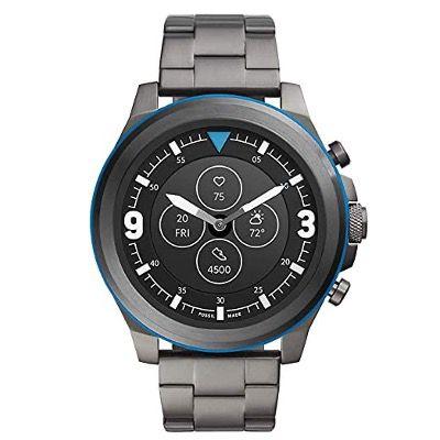 Vorbei! Fossil HR Latitude Hybrid Smartwatch mit Edelstahl Armband für 64,85€ (statt 209€)