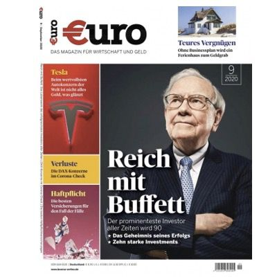 12 Monate Euro für 106,80€ + Prämie: 105€ Amazon Gutschein