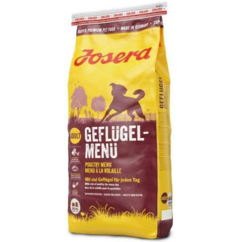 15kg Josera Hundefutter mit viel Geflügel für 28€