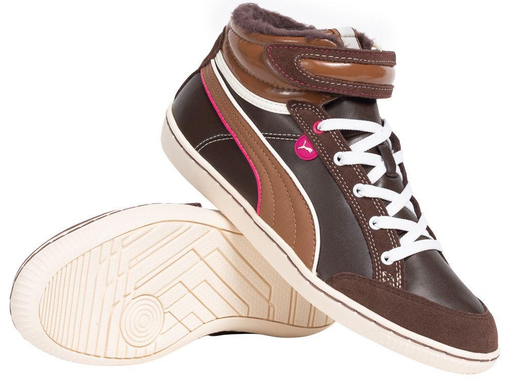 Puma Avila Mid Damen Winter Sneaker mit Teddy Innenfutter für 22€ (statt 37€)   nur 38 bis 40.5