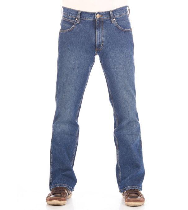 Wrangler Herren Jeans Jacksville Bootcut für 39,99€ (statt 60€) oder 2 Stück für 64€