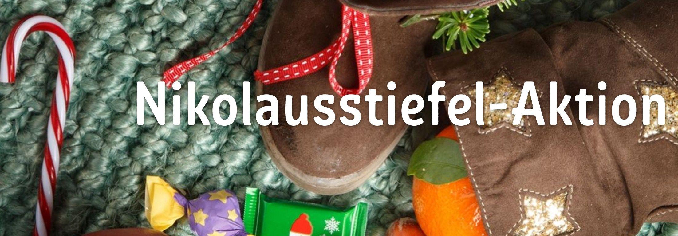 Nikolausstiefel basteln und kostenlos befüllen lassen   Kaufland, Globus, Thalia