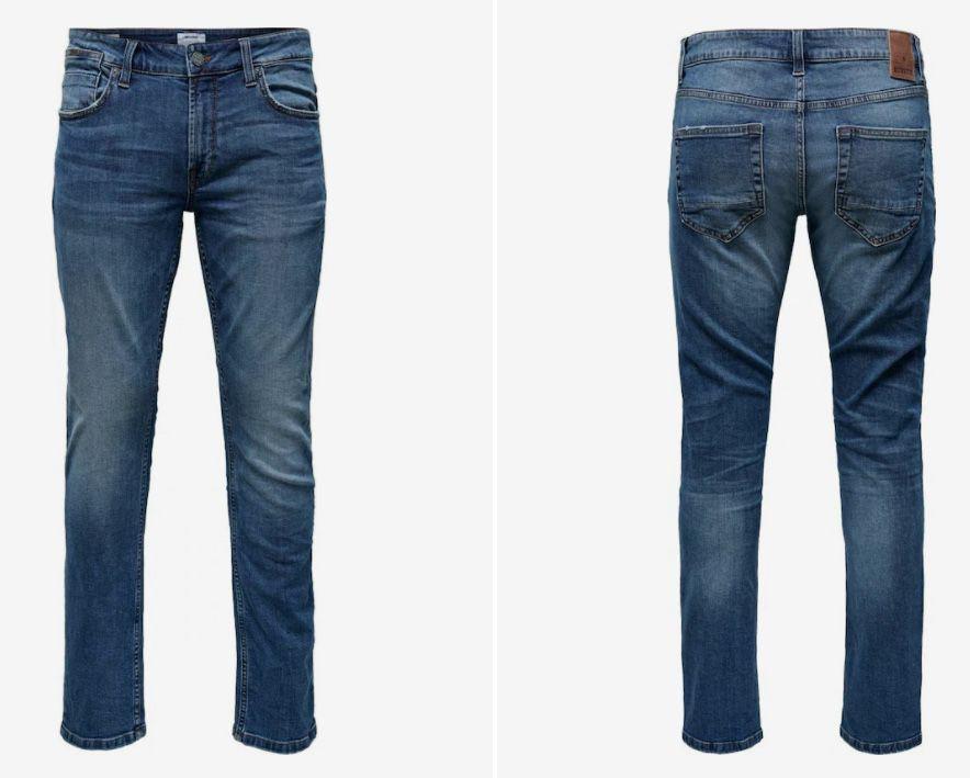 Only & Sons ONSWeft Herren Jeans in W 28 32 und L 30 34 für 11,97€ (statt 38€)