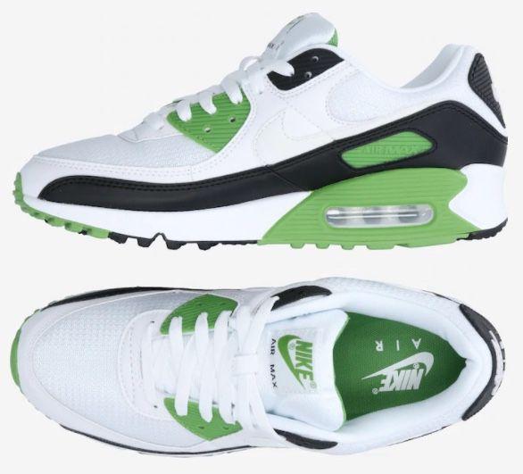 Vorbei! Nike Air Max 90 in Weiß/Grün für 69,50€ (statt 90€)