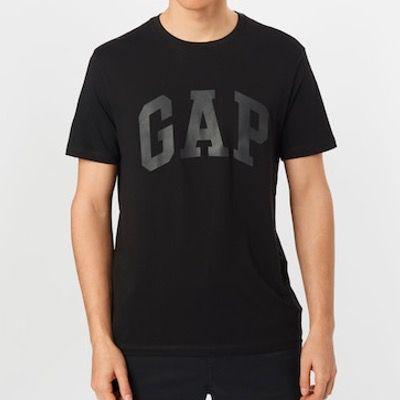 GAP Herren T Shirt in Schwarz für 7,47€ (statt 20€)