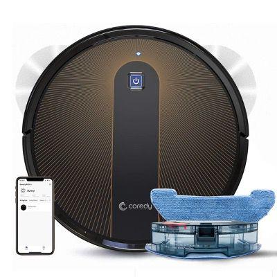 Coredy R750 Saugroboter mit Wischfunktion & 2200Pa inkl. App-Steuerung für 149,99€ (statt 200€)