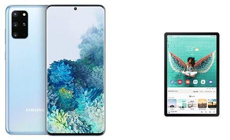 Samsung Galaxy S20 Plus 128GB + Galaxy Tab S5e 128GB für 873,82€ (statt 1.058€)