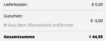 Under Armour Laufschuh Charged Bandit 6 für 44,95€ (statt 75€)