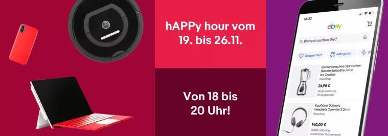 *ab 18 Uhr* eBay: 10% Rabatt in der App (max. 30€)
