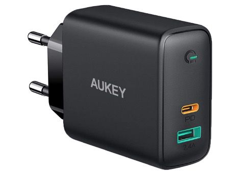 AUKEY USB C Ladegerät 60W Power Delivery mit Dynamic Detect für 26,49€ (statt 50€)