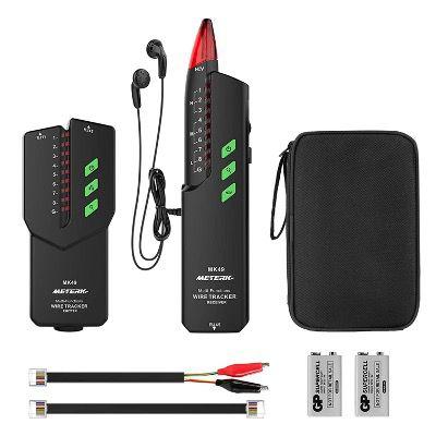 Meterk Leitungssucher für z.B. Stromkabel, Telefonleitungen, LAN Kabel für 20,99€ (statt 30€)