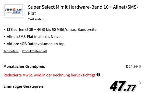 Abgelaufen! Samsung Galaxy S20+ für 47,77€ + o2 Flat mit 9GB LTE für 24,99€ mtl.