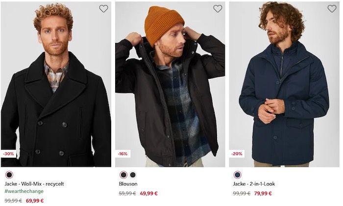 C&A BlackWeek: 20% Extra Rabatt auch auf alle reduzierten Jacken & Mäntel   ab 39€ keine VSK