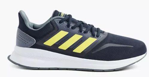 adidas Runfalcon Laufschuhe mit gelbem Logo für 24,36€(statt 38€)