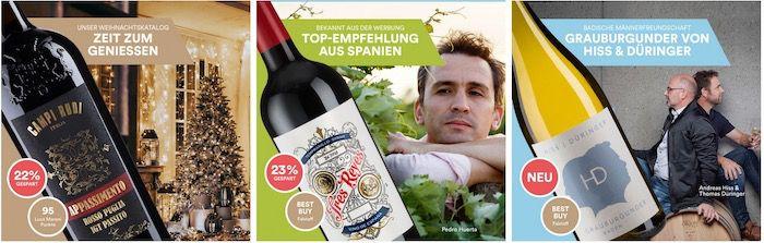 Ab 16:00 Uhr: Weinfreunde Latenight Shopping mit bis zu 41% Rabatt auf ausgewählte Weine