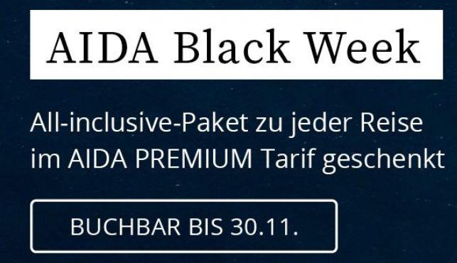 AIDA: gratis All Inclusive Paket zu jeder Reise für den Sommer 2021 (statt bis 179€)