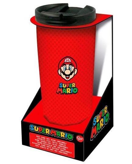 Super Mario Thermo Reisebecher aus Edelstahl (425 ml) für 12,99€(statt 19€)