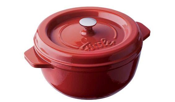Fissler Arcana Gusseisen Bräter mit 19cm Durchmesser in Rot für 50€ (statt 105€)