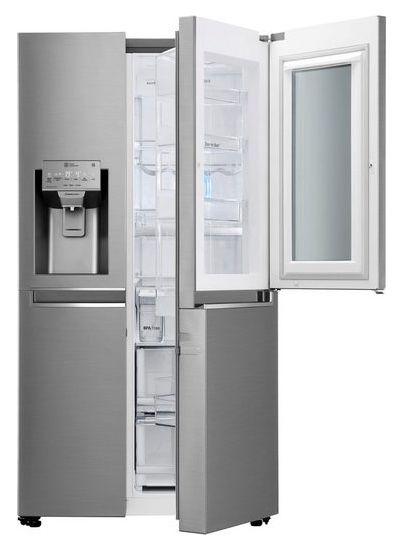 LG GSI961PZAZ Side by Side Kühlkombi mit InstaView Door in Door ab 1.430,88€ (statt 1.899€)