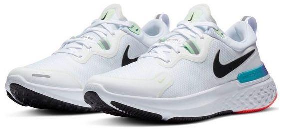 Nike Laufschuh React Miler in Weiß für 58,48€ (statt 70€)