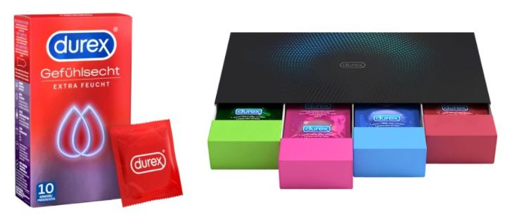 Durex Rabattfehler   z.B. 160 Kondome für 28,35€(statt 80€)