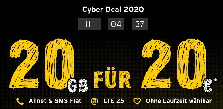Abgelaufen! Telekom Allnet Flat von Congstar mit 20GB LTE für 17€ mtl.   auch ohne Laufzeit wählbar