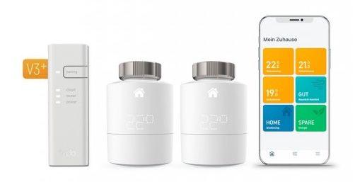 tado Starter Kit V3+ mit 2 Thermostaten und Bridge für 129,95€ (statt 141€)