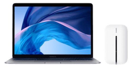 Apple MacBook Air (2020) i3 + Mobile Router für 104,85€ + o2 Allnet Flat unlimited LTE / 5G für 59,99€ mtl.