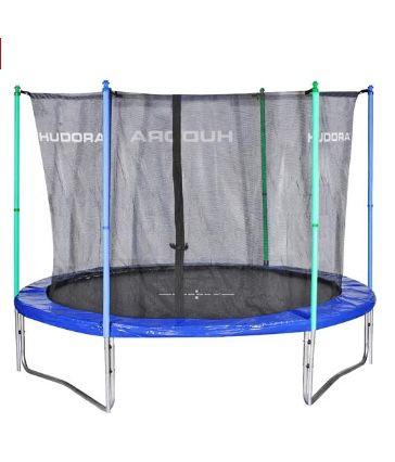 Hudora Fun 300 Trampolin (300cm) inkl. Sicherheitsnetz ab 155,96€(statt 224€)