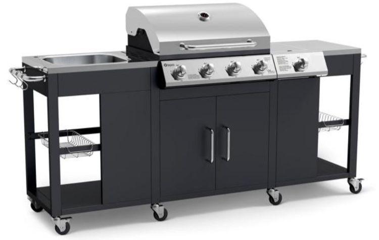 Tepro Clarksburg Gasgrill Küche mit 4 Brennern ab 329,99€ (statt 500€)