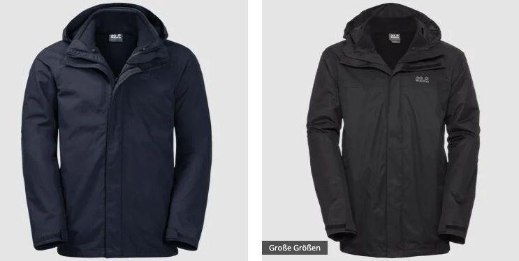 🔥 Jack Wolfskin 20% Rabatt auf ALLE Jacken (außer Sale/Fleece)   z.B. Pouring Rain 3in1 für 132,53€(statt 180€)