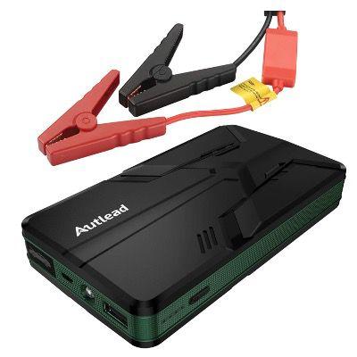 AUTLEAD Auto Starthilfe Powerbank CBJS01A mit 12V 600A 8000mAh und QC 3.0 für 32,99€ (statt 65€)