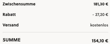 FOSSIL Herrenuhr Neutra Automatik aus Edelstahl Grau für nur 154,10€ (statt 201€)